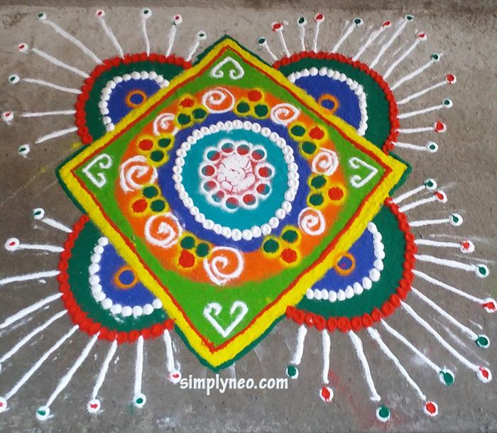 happy new year rangoli design images happy new year happy new year 2021