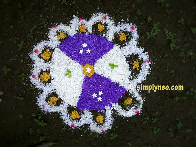Happy New Year Rangoli Design Gallery 72